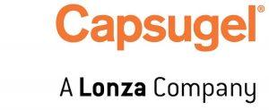 Logo of Capsugel, A Lonza Company